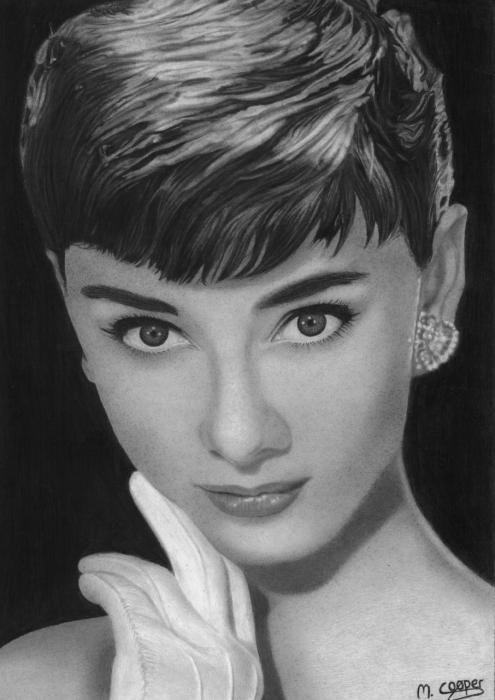 Audrey Hepburn par MattMatt